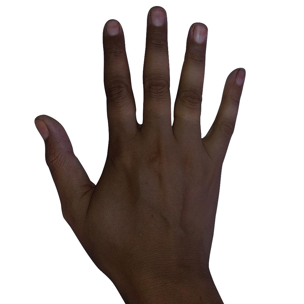 Hand Dark Skin Image