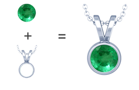 Natural alexandrite pendant necklaces gemsny make your own alexandrite pendant aloadofball Choice Image