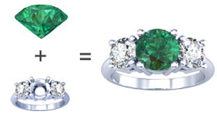 Make Your Own Alexandrite Engagement Ring