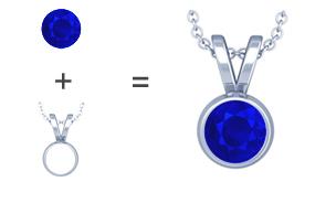 Tanzanite pendants necklaces wholesale prices gemsny tanzanite pendant aloadofball Gallery