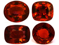 Gems Hessonite Garnets