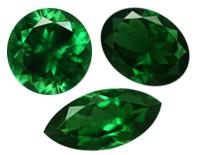 Gems Tsavorites