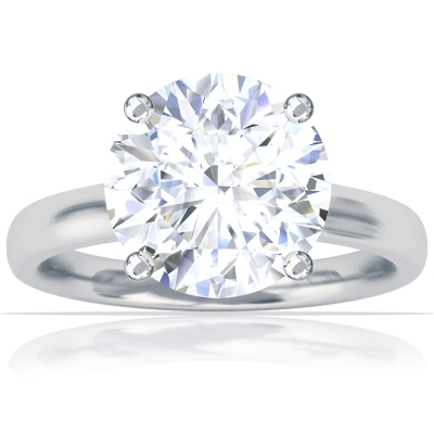 Contour Solitaire Ring Setting
