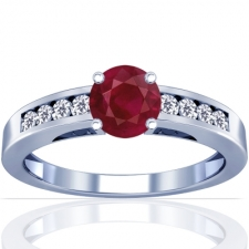 stunning designs for designer ruby rings