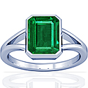 Emerald Solitaire Ring (2.64cts)