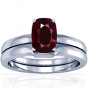 Rare Untreated Cushion Ruby Matching Set (1.09cttw)